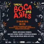 Vem aí o 3º Sarau Boca das Artes