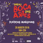 4º Sarau Boca das Artes – Poéticas Marginais