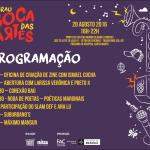 4º Sarau Boca das Artes movimenta cultura no Setor de Oficinas de Taguatinga